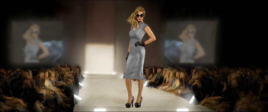 Violent Acts - Concept Art: Fashion Show